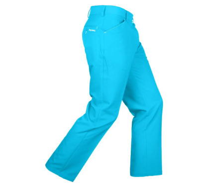 "Stromberg Mens Sintra 7 Slim Fit Blue Funky Golf Trouser Waist 40"" Leg 31"""