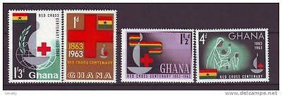 GHANA 1963 Red Cross MNH
