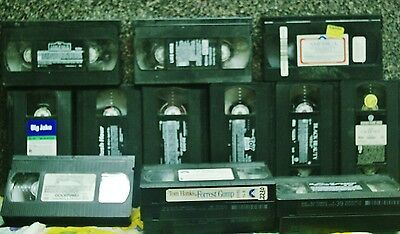 Assortment of 15 VHS Movies