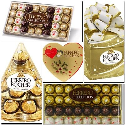 Ferrero Rocher Collection 15/32/24/42/48 Pieces Assortment, Chocolate Gifts