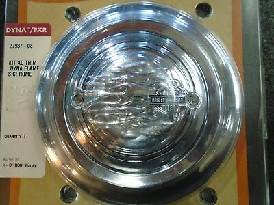 Harley Davidson Flame Air Cleaner Cover