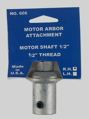 "NEW!! Chicago Die Cast Work Arbor 1/2 in.- 20, 1/2 in. 606-5 Takes wheels 3/4"" W"