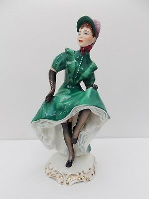"Adderley Figurine Josette  ""the Can-Can"""