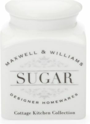 Maxwell & Williams Cottage Kitchen Sugar Canister 0.5 Litre