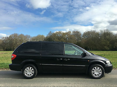 chrysler grand voyager 2.8 CRD Limited STOW and GO
