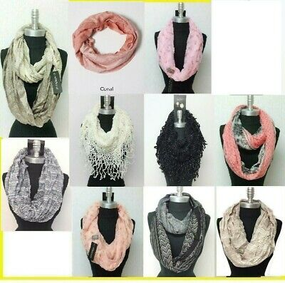 *US SELLER*lot of 12PCS infinity loop scarf Wholesale Bulk Fashion Scarves Soft