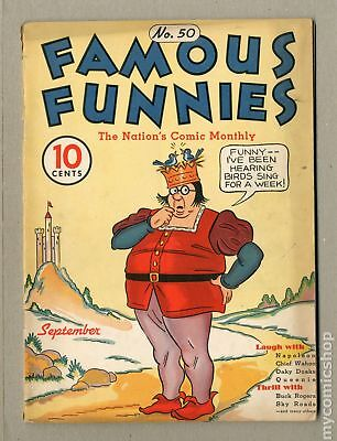 Famous Funnies (1934) #50 VG 4.0
