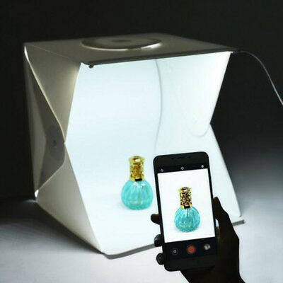 Small Portable LED photography light box Cube Tent Photo Studio Light Box