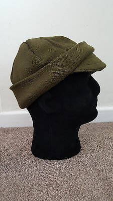 Italian Army woollen Jeep Cap,hat,cover,watch cap. NEW OLD STOCK