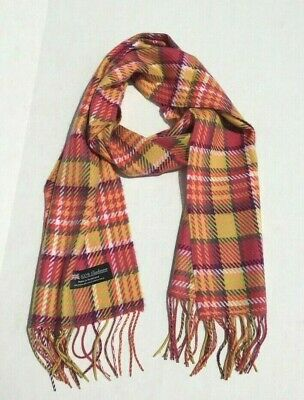 Wholesale 12Pcs 100% Cashmere Scarf Made In Scotland Plaid Design Lot 1