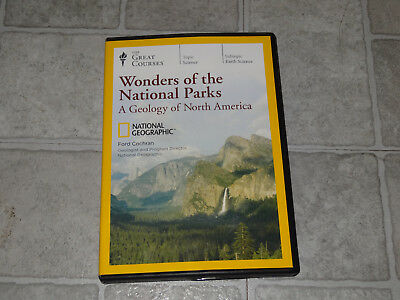 The Great Courses - Wonders of the National Parks 6 DVD Set