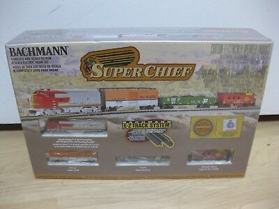 New - N Scale Super Chief Complete Freight Train Set Bachmann #24021 - Sealed