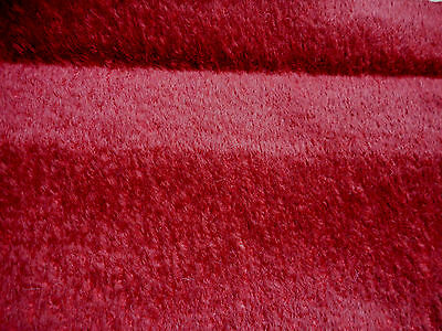 13mm BURGUNDY MEDIUM DENSE MOHAIR