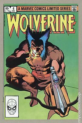 Wolverine (1982 Limited Series) #4 FN+ 6.5