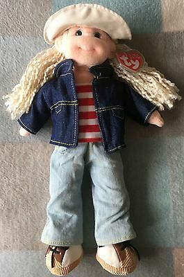 TY Beanie Boppers Lucky Lucy With Tag Original Soft Toy 2002 Baby Doll