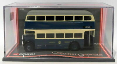 Corgi 1/76 Scale 40402 - AEC Regent II Newcastle Corporation Transport Dept