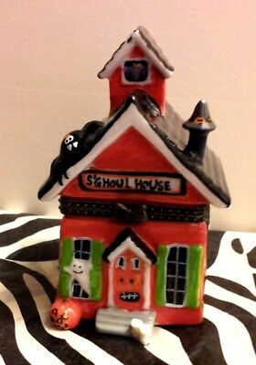 HAUNTED HALLOWEEN S'GHOUL HOUSE Trinket Box with Surprises Inside!