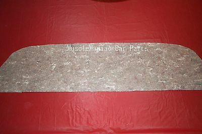 MARKETS BEST 1962-1964 Impala PACKAGE TRAY INSULATION 2 DR 62 63 64