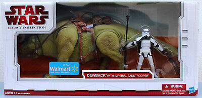 Star Wars The Legacy Collection 2009 Walmart Exclusive Dewback With Sandtrooper