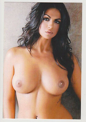 Postcard Nude Sexy Girl Topless Breast Exotic Beauty Rare Photo Post Card 7101