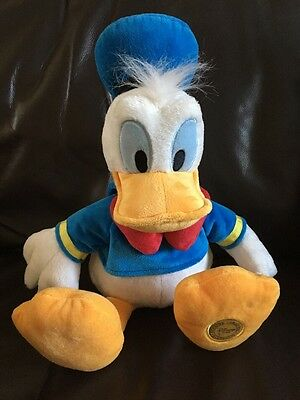 "Disney Store Donald Duck Soft Cuddly Toy 17"" Tall"