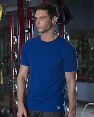 New 2018! Russell Athletic Essential 60/40 Performance Tee 64STTM Men's New SALE