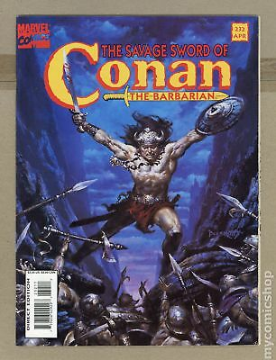 Savage Sword of Conan (1974 Magazine) #232 VG/FN 5.0