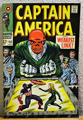 Captain America #103 ~ The Weakest Link