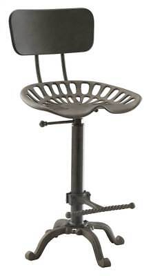 Tractor Seat Stool with Back [ID 3523151]