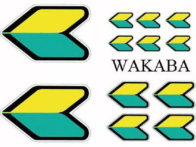 Set Adhesifs -ELEMENT WAKABA- Full Color - PROMO ADN - Car Deco