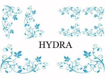 Set Adhesifs -ELEMENT HYDRA- Bleu - Car Deco