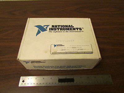 National Instruments AT-GPIB Card With Software And Books Original Box NOS