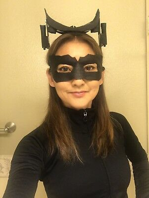 Catwoman Mask The Dark Knight Rises Leather Selina Kyle