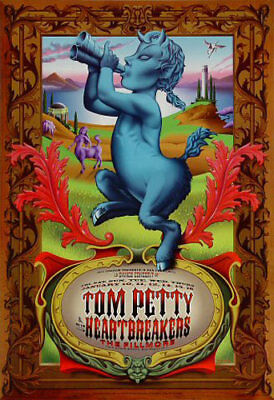 Tom Petty The Wallflowers Los Straight Jacket 1997 Fillmore SF Poster F251