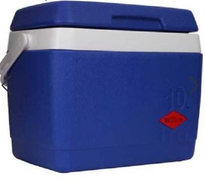 NEW Willow 10L Cooler Hard Box Summer  Blue Camping Ice Outdoor Indoor Picnic