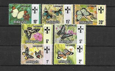 Malaysia Stamps #242-247 Set Of 7 (Nh) From 19.
