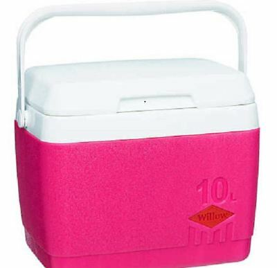 Cooler - Pink Willow 10 Litre Travel Camping Outdoor Summer Warmer Household New