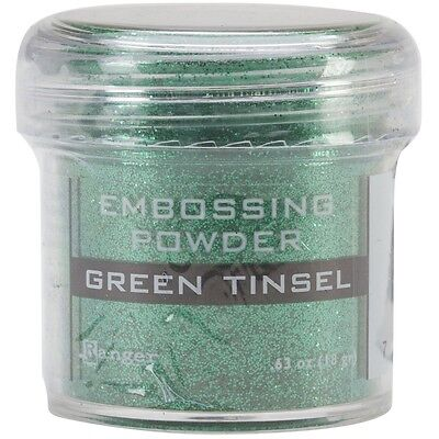 Ranger - Green Embossing Tinsel