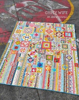 Jen Kingwell Designs - Gypsy Wife Quilt Pattern Booklet