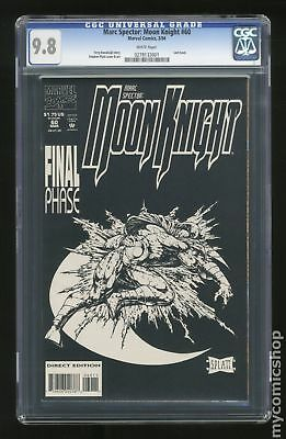 Marc Spector Moon Knight (1989) #60 CGC 9.8 0278133001