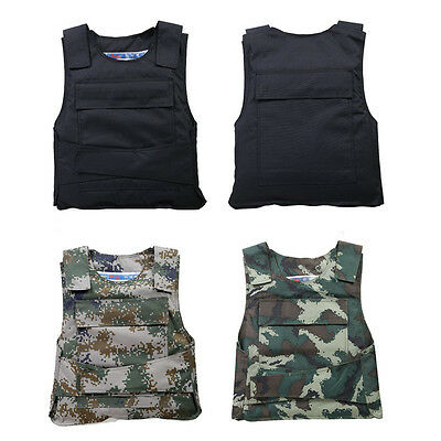 Outdoor CS Game Molle Tactical Vest Hunting Combat Light Body Protective Vest.