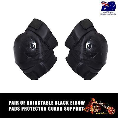 Adult Kid Elbow Armor Protector Guard Pads for Motorcycle Cycling Motocross Set