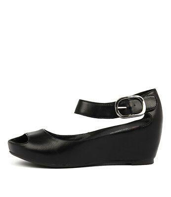 New I Love Billy Tindol Black Oil Smooth Black Womens Shoes Casual
