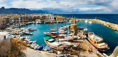 Accomadition 7 days in 5*Hotel-Rental Car-Airfare in Northern Cyprus for 2 Plp