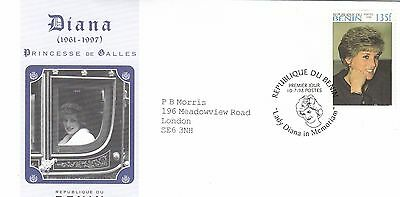 (02372) Benin FDC Princess Diana Death 10 July 1998