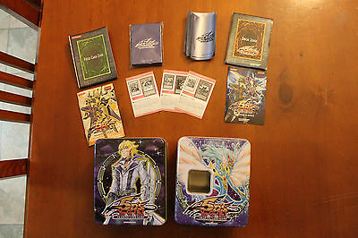Yu-Gi-Oh 5D's - 193 Trading Cards, Sleeves & 2 Collectable Cases