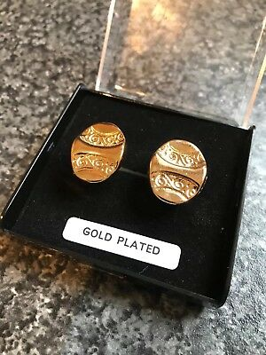 91 X Pair Gold plated cufflinks Job Lot (best Offer Available)
