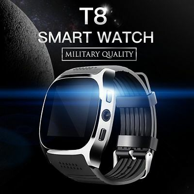 T8 Smart Bluetooth Watch Phone Support SIM TF Card With Camera Sync For Android