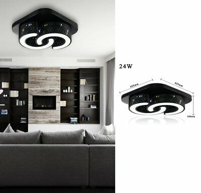 36w led deckenlampe wohnzimmer deckenleuchte dimmbar wandlampe k chen flur ess eur 47 99. Black Bedroom Furniture Sets. Home Design Ideas