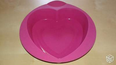 Moule Coeur Silicone Tupperware / Neuf